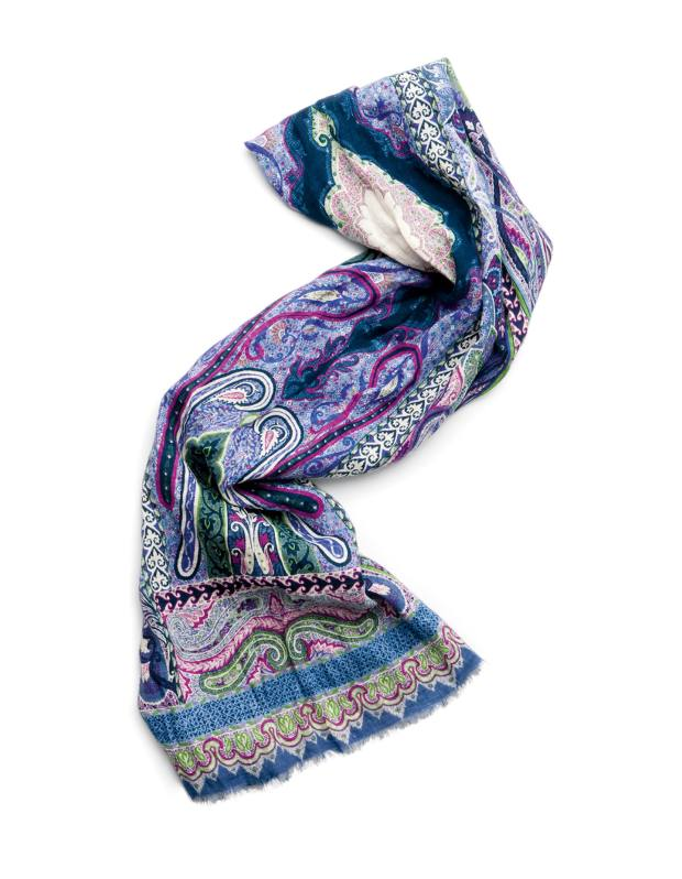 Scarf from Etro.