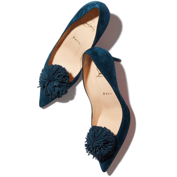 Christian Louboutin nappa leather Konstantina heels, £755