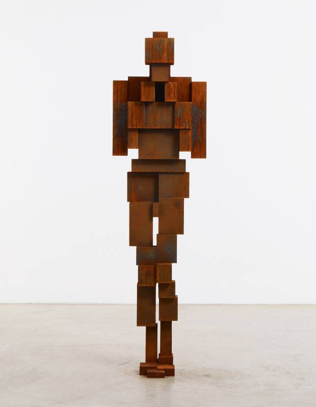 Force III, 2010, by Antony Gormley