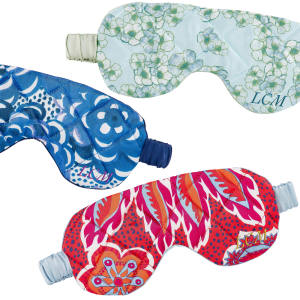 Longstaff Longstaff's silk eye masks are available in seven different silk prints and can be personalised with an embroidered monogram