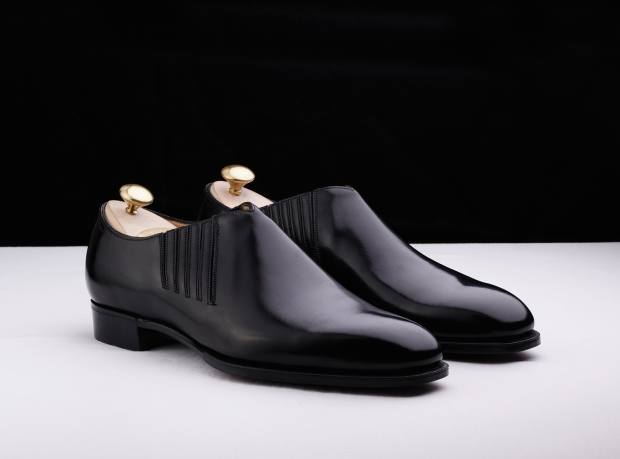 Edward Green calfskin Top Drawer shoes, from £1,450. Made to order