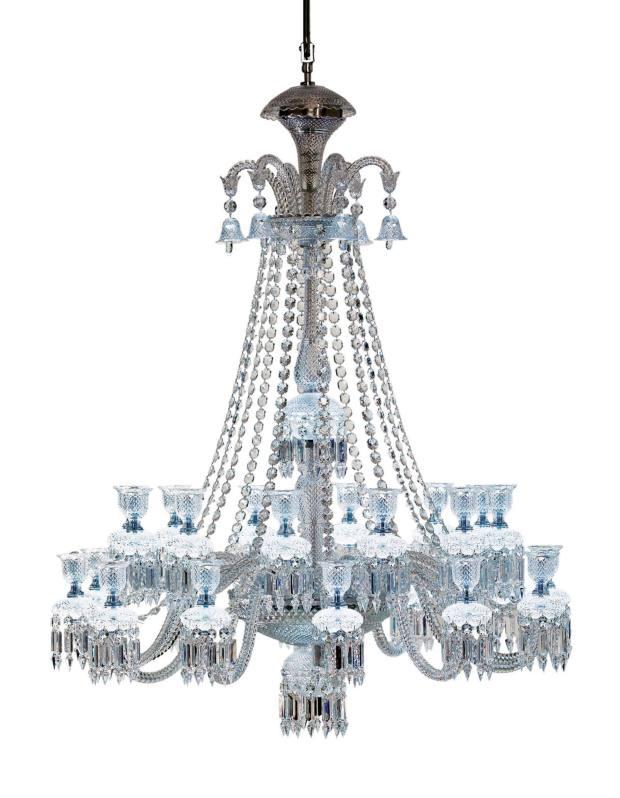 Zenith Comète chandelier by Baccarat, £35,600.