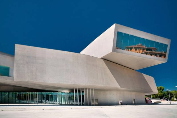 Maxxi museum in Rome – the building was designed by Zaha Hadid