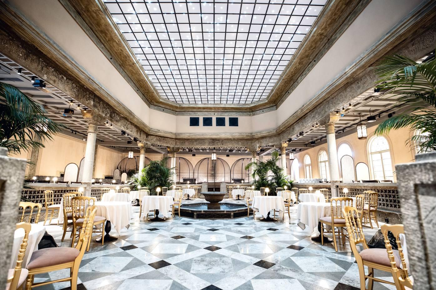 One of the six restaurants inTrondheim's fabulously restored Britannia hotel