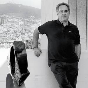 Ferran Adrià at the Fundació Joan Miró in Barcelona.