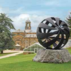 Charles Hadcock's Folium is currently part of Sotheby's Beyond Limits exhibition at Chatsworth House