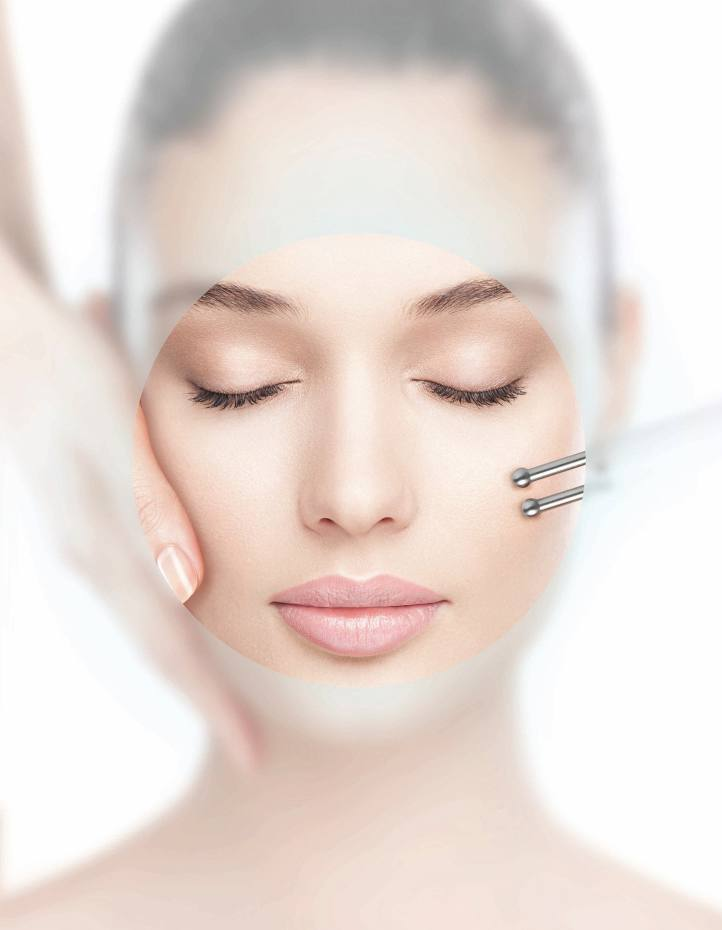 Microcurrent lifting in the Elemis Biotec anti-ageing facial, from £110 at the flagship spa
