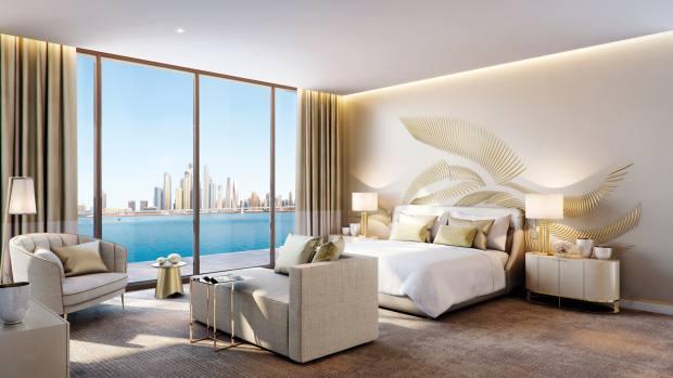 "Dubai's first ""super prime"" homes, Royal Atlantis Residences, start at £1.4m through Knight Frank"