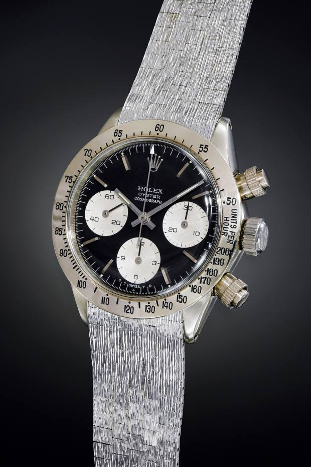 073ca76eac5 the only known white-gold version of the Rolex Daytona 6265, the Unicorn  made