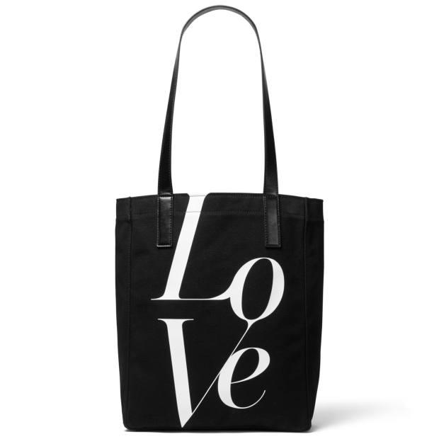Love tote bag, £50