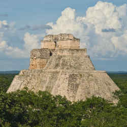 The Mayan Pyramid of the Magician, Uxmal