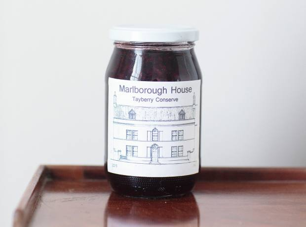 Marlborough House Tayberry Conserve, made by Siddall's father