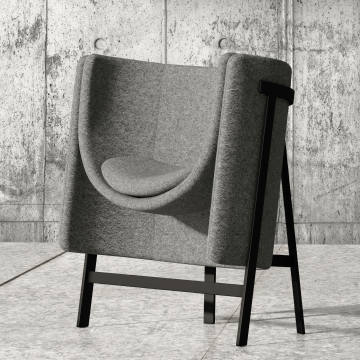 Stellar Works x Nendo Kite chair
