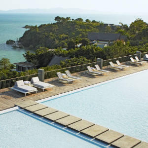 The pool at Point Yamu, Phuket