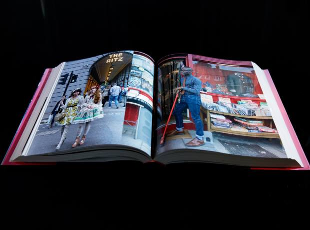 London Burning: Portraits from a Creative City by Hossein Amirsadeghi and Maryam Eisler