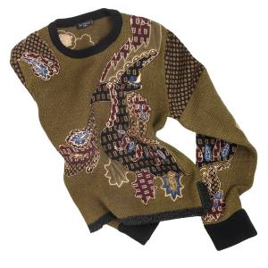Etro jumper in wool and cashmere/silk, £2,160