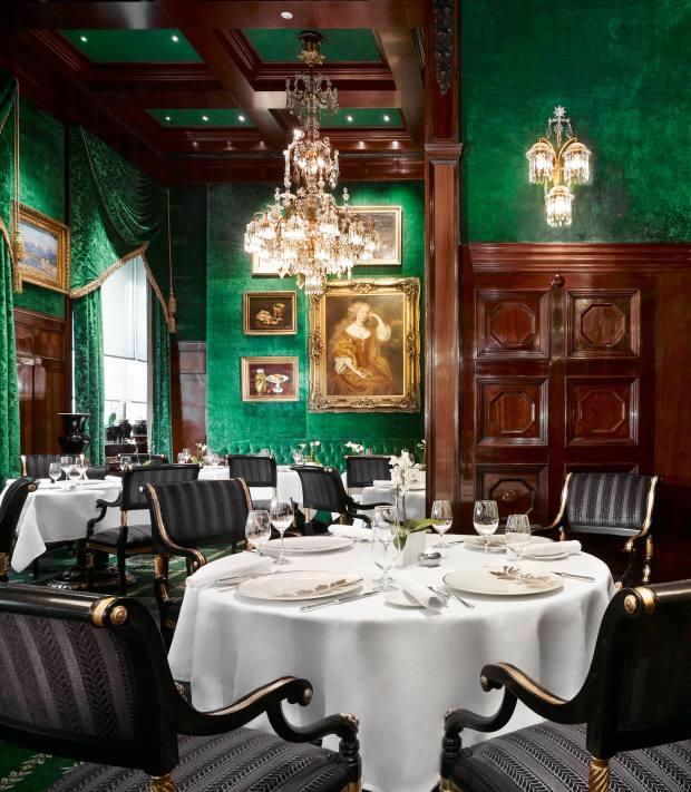 Restaurant Grüne Bar at Hotel Sacher