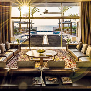 The largest villa at Bulgari Resort Dubai has a 500sq m garden, an oval pool, indoor cinema and hammam