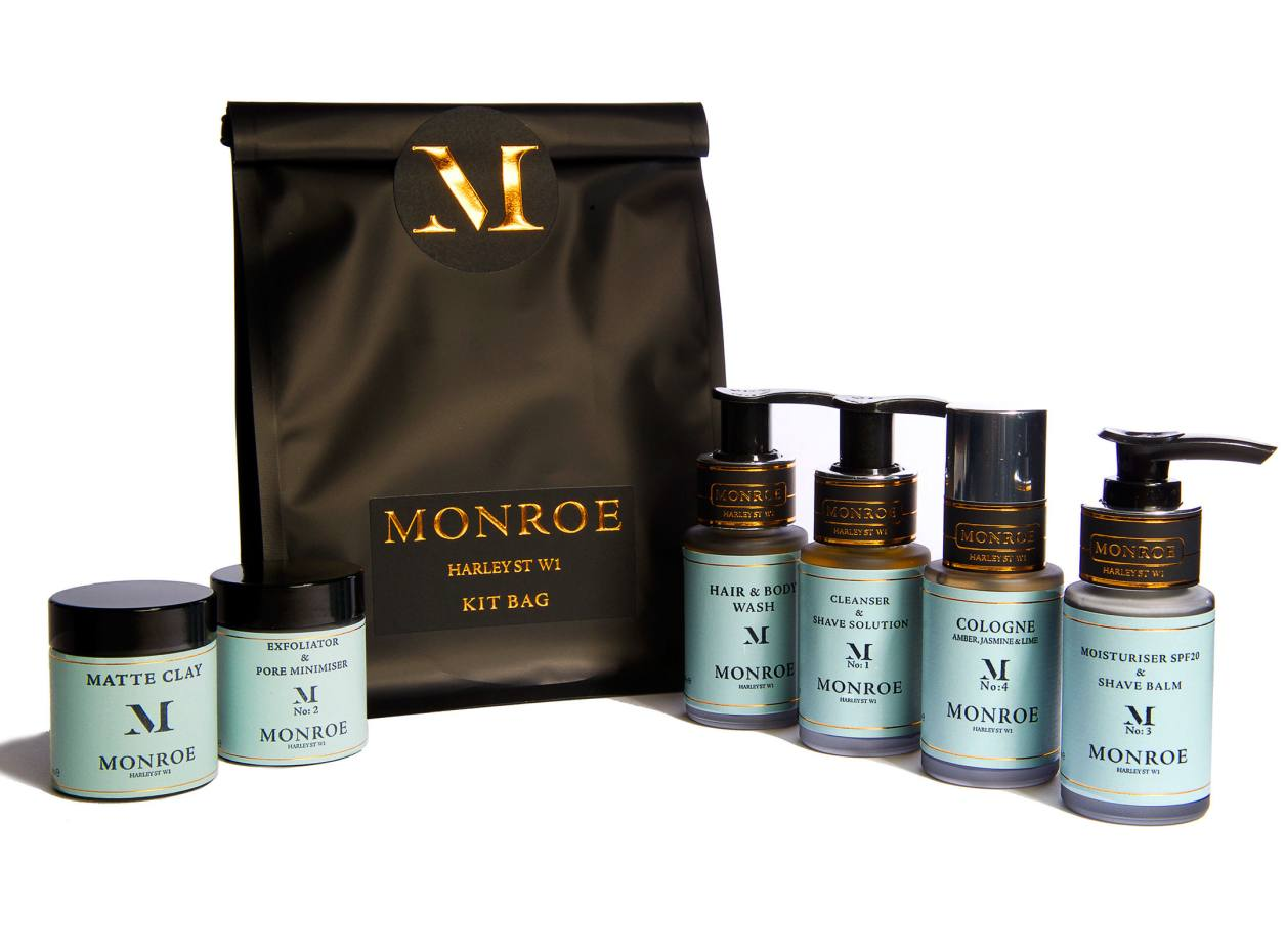 Monroe of London Travel Kit, £78