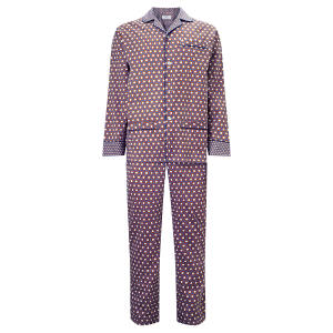 Otis Batterbee cotton pyjamas, £165