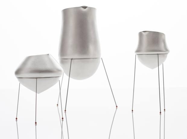 Adi Toch's Soft Vessels on Stilts, €2,000-€4,600