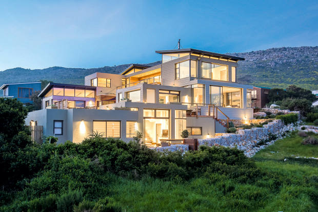 A two-bedroom villa in the conservation village of Scarborough, South Africa, about £1.04m, through Greeff