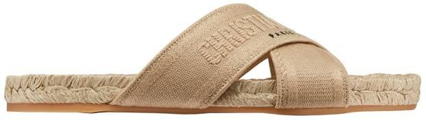 Dior sandal, £490