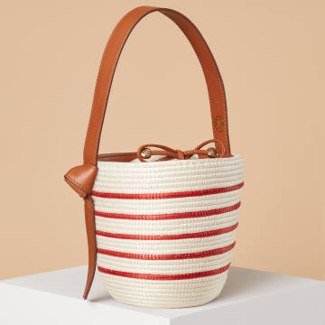 Cesta Multi Stripe Lunchpail, $395 – all proceeds go toTeam Heart
