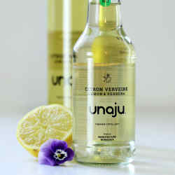 Unaju Lemon & Verbena, €3.50 for 25cl and €6.95 for 75cl