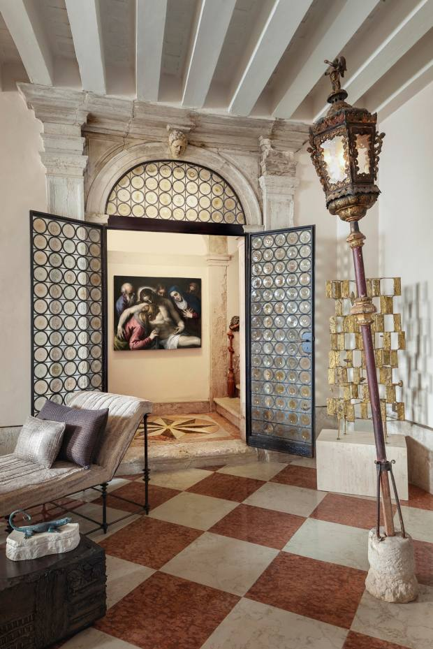 A show by the Old Master dealers Colnaghi, in conjunction with the interior designer Chahan Minassian, will present the home of a 21st-century traveller at Venice's historic Abbazia San Gregorio