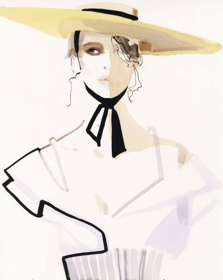 Original artwork by David Downton, from £2,500