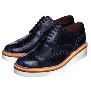 Grenson Archie shoes in leather with rubber soles, £250. Also in other colours/materials