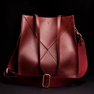 V by Townsley vegan-leather Nicola tote, £370