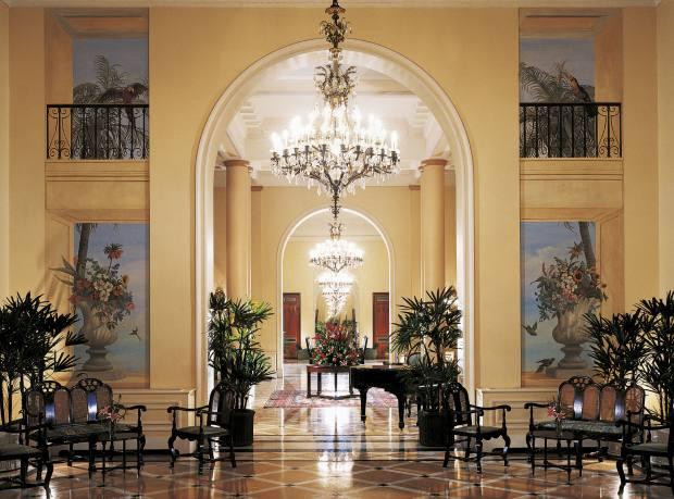 The Copacabana Palace hotel