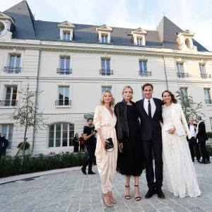 Kate Moss, Uma Thurman, Roger Federer and Natalie Portman attended the star-studded Château de Saran launch party