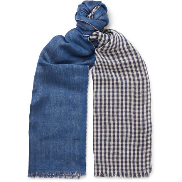 Loro Piana scarf, £1,415, mrporter.com