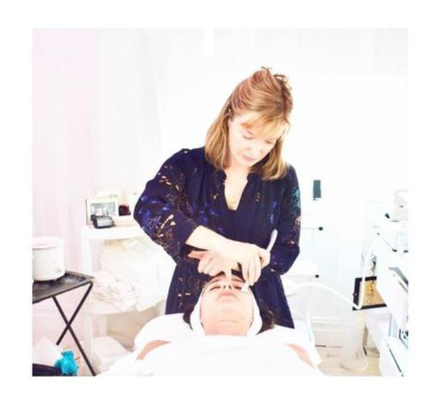 Facialist Tracie Martyn at her salon