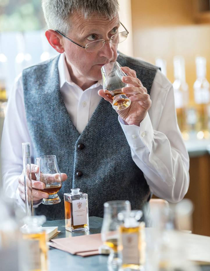 Jim Beveridge, Johnnie Walker master blender