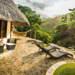Reserva One Love's bungalows are set among glorious gardens