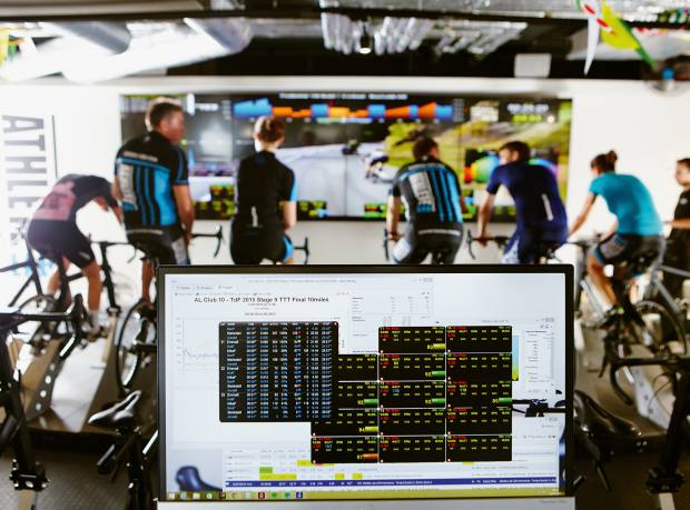 The bikes deliver large amounts of highly accurate data