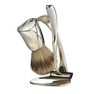 Minas silver shaving kit, £8,500