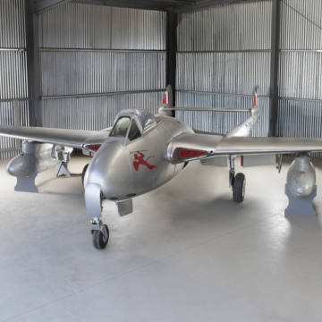 De Havilland 1951 DH-100 Vampire FB 9, about £6,000-£9,000