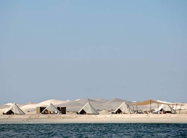 An Oman beach camp with Nelson Expeditions
