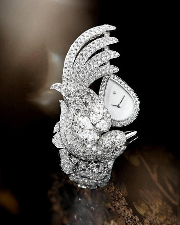 Chanel white-gold and diamond Vol Suspendu, price on request