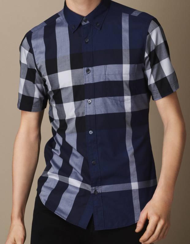 Burberry cotton shirt, £175
