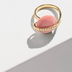 Pamela Love gold, diamond and opal Comet cocktail ring, $3,200
