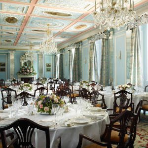 The private dining room at The Lanesborough, London