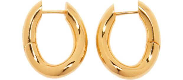Balenciaga earrings, £325