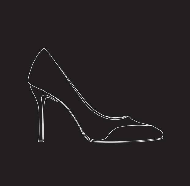 Shoe, £1,800, by Michael Craig-Martin