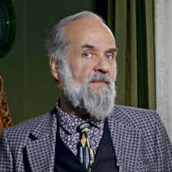 Barnaba Fornasetti at his home in Milan